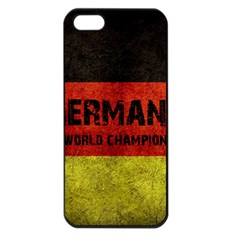 Football World Cup Apple Iphone 5 Seamless Case (black) by Valentinaart