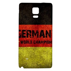 Football World Cup Galaxy Note 4 Back Case by Valentinaart
