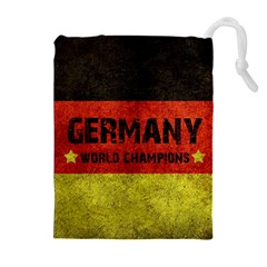 Football World Cup Drawstring Pouches (extra Large) by Valentinaart