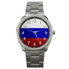 Football World Cup Sport Metal Watch by Valentinaart