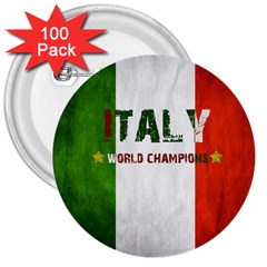 Football World Cup 3  Buttons (100 Pack)  by Valentinaart