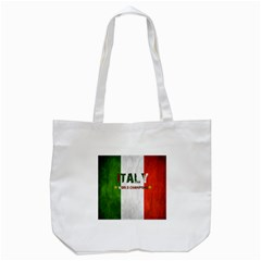 Football World Cup Tote Bag (white) by Valentinaart