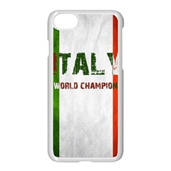 Football World Cup Apple Iphone 8 Seamless Case (white) by Valentinaart
