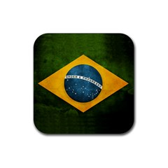 Football World Cup Rubber Coaster (square)  by Valentinaart