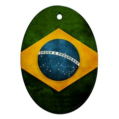 Football World Cup Oval Ornament (two Sides) by Valentinaart