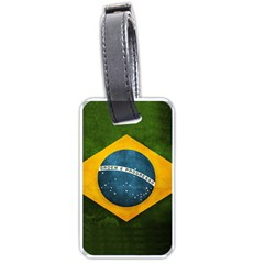 Football World Cup Luggage Tags (one Side)  by Valentinaart