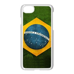 Football World Cup Apple Iphone 7 Seamless Case (white) by Valentinaart