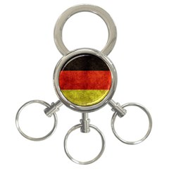 Football World Cup 3 Ring Key Chains by Valentinaart