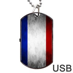 Football World Cup Dog Tag Usb Flash (two Sides) by Valentinaart