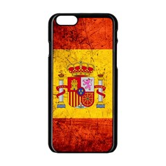 Football World Cup Apple Iphone 6/6s Black Enamel Case by Valentinaart