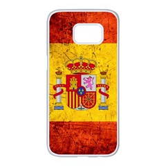 Football World Cup Samsung Galaxy S7 Edge White Seamless Case by Valentinaart