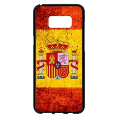 Football World Cup Samsung Galaxy S8 Plus Black Seamless Case
