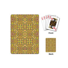 Forest Rainbow  Wood And Festive Soul Playing Cards (mini)