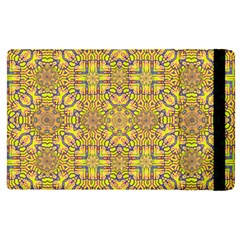 Forest Rainbow  Wood And Festive Soul Apple Ipad Pro 9 7   Flip Case by pepitasart