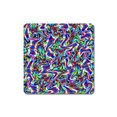 Pattern-10 Square Magnet