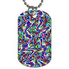 Pattern-10 Dog Tag (two Sides)