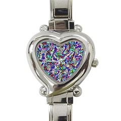 Pattern 10 Heart Italian Charm Watch