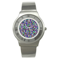 Pattern-10 Stainless Steel Watch