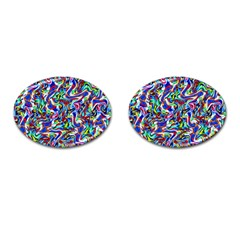 Pattern-10 Cufflinks (oval)