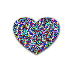 Pattern-10 Heart Coaster (4 Pack)