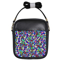 Pattern 10 Girls Sling Bags