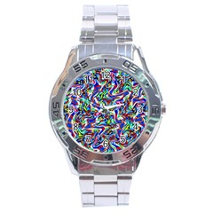 Pattern-10 Stainless Steel Analogue Watch