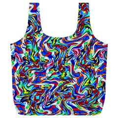 Pattern 10 Full Print Recycle Bags (l)
