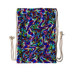 Pattern-10 Drawstring Bag (small)