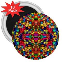 P 786 3  Magnets (10 Pack)