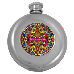 P 786 Round Hip Flask (5 Oz)
