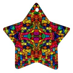 P 786 Star Ornament (two Sides)