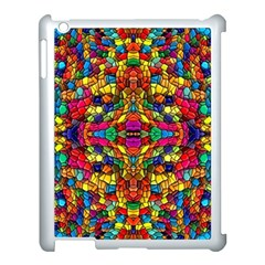 P 786 Apple Ipad 3/4 Case (white) by ArtworkByPatrick