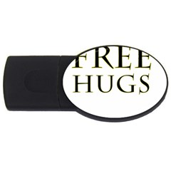 Freehugs Usb Flash Drive Oval (2 Gb) by cypryanus