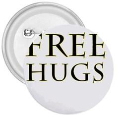 Freehugs 3  Buttons by cypryanus