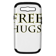 Freehugs Samsung Galaxy S Iii Hardshell Case (pc+silicone) by cypryanus
