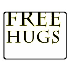 Freehugs Fleece Blanket (small) by cypryanus