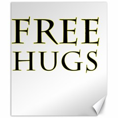Freehugs Canvas 8  X 10  by cypryanus