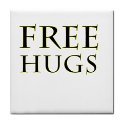 Freehugs Tile Coasters by cypryanus