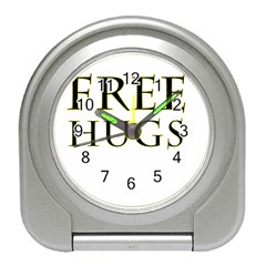 Freehugs Travel Alarm Clocks by cypryanus