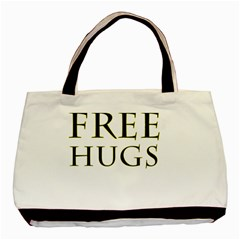 Freehugs Basic Tote Bag (two Sides) by cypryanus
