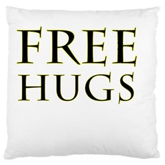Freehugs Standard Flano Cushion Case (one Side) by cypryanus