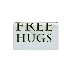 Freehugs Cosmetic Bag (small)  by cypryanus