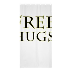 Freehugs Shower Curtain 36  X 72  (stall)  by cypryanus