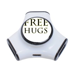 Freehugs 3 Port Usb Hub by cypryanus