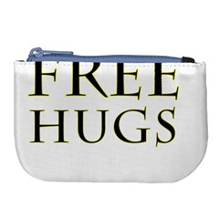 Freehugs Large Coin Purse by cypryanus