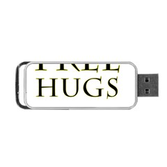 Freehugs Portable Usb Flash (two Sides)