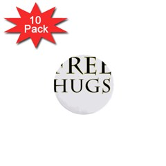 Freehugs 1  Mini Buttons (10 Pack)  by cypryanus