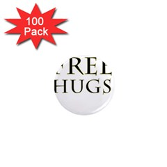 Freehugs 1  Mini Magnets (100 Pack)