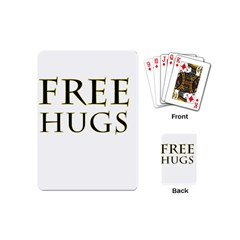 Freehugs Playing Cards (mini)  by cypryanus