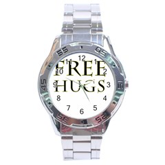 Freehugs Stainless Steel Analogue Watch by cypryanus
